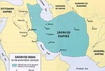 the Great Safavid Empire / The Safavid empire was founded in 1501 by Shah Ismail. Shia Muslim was their official religion.