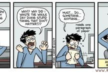 Gradhacker Comic Relief Favorites / Sometimes you have to laugh to keep from crying.  / by GradHacker