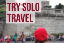 Solo travel / How to travel alone but not lonely