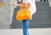 Colourful Wardrobe / Colourfully outfits from fashionistas around the world.