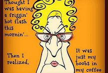menopause humor / by Annette Grant