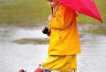 Regen und Spaß