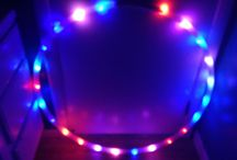 LED Hula Hoops / LED Hula Hoops light up hula hoops