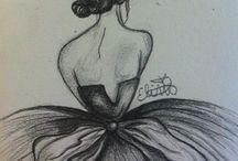 My drawings / My own drawings