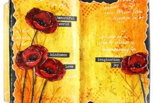 art journal vicky