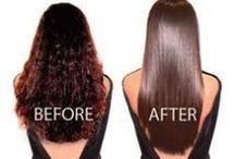 hair chemical straightening
