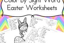 easter worksheets for kids / easter worksheets