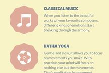 Meditation and Relaxation, Zen Stuff / about meditation, techniques related to relaxation, meditation infographics, zen, yoga,