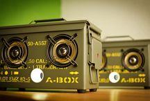 Thodio A-BOX™ Heavy Edition / Thodio A-BOX, The Original .50 Cal Ammo Can BoomBox