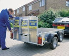Trailers / Moving boxes, or site equipment? Our trailers from HSS Hire will help you move your things.  #toolhire #equipmenthire #hss #hsshire #trailers #trailerhire