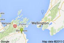Rarangi Beach Marlborough New Zealand / The Beach House B&B accommodation