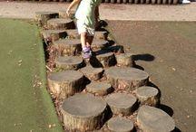 School garden playarea