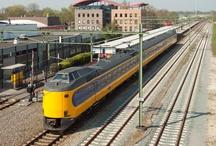 NTM Steenwijk-Gorredijk / Spoorlijn waar NTM en NS-loks reden