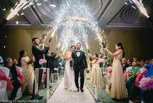 Bride + Groom Entry