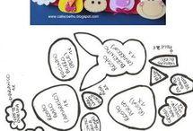Moldes de E.V.A / moldes de eva para imprimir, eva, moldes, artesanato , manualidades, moldes eva, #eva #moldes #artesanato #flor #bonecas #ursinhos #alfabeto #letras #numeros #trabalhos #ideias visite www.verefazer.org