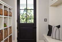 Black door interior / Inspiration for my House #behindaube
