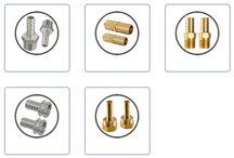 Hose Fittings Brass - Stainless Steel / Our range of Brass Hose Fittings Stainless Steel Fittings that we manufacture using premium quality brass. These Hose Fittings Brass - Stainless Steel are available in a large variety of shapes and sizes as per the dimensions provided by our clients for their fitting requirements.