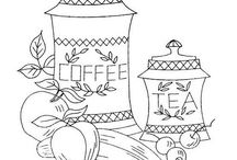 Hand embroidery patterns / Crafting with needle and thread