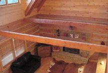 Lofts / Appalachian Log & Timber Homes Client Loft Gallery