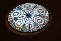 Beautiful ceilings / LOOK UP. And you'll be amazed. As I was.