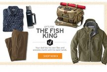 Father's Day: Fish King / Gifts for the Dad who ties his own flies and wrestles marlin with his bare hands.