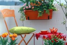 Cool Outdoor Spaces / Having a comfy outdoor space to entertain is a dream of mine.  These are all outdoor spaces I like.