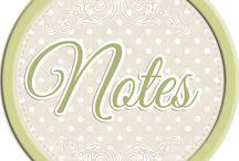 notes album