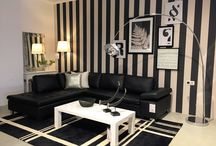 Loft & Roomers Monochrome in Marbella / Decorating in black and white is forever on trend and eternally chic!