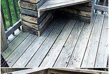 drewniane ogród