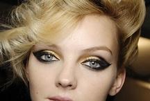 Cosmetics / Nail polish, nail art, makeup, high fashion makeup / by H. N. M. Murphy