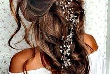 Hairstyle, wedding