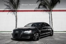 2011 Audi A8 Fitted with 20 Inch BD-8's in Two Tone Black / Go to www.blaquediamond.com to see our complete range
