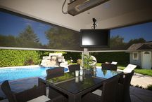 Roll Screens / Whether you want to close in a balcony or your windows, screen-in a porch or a loading door, with a maximum of 20 feet the Talius Roll Screen makes it possible.