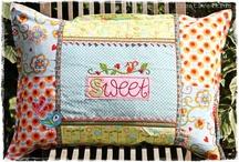 Travesseiros e Almofadas / Ideias de travesseiros e almofadas em patchwork
