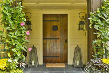 Designer Doors / TRICK OR TREAT: Designer Doors! This HALLOWEEN we had FABULOUS DOORS on the mind! Feast your eyes on this amazing selection of entryways. Happy trails to all the candy hunters out there this weekend! #lovewhereyoulive