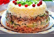 slané dorty a rolády