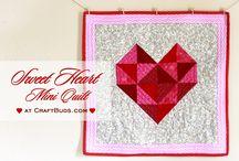 quilt srdce