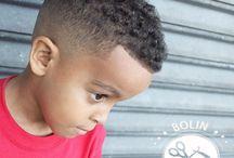 coupe bébé afro