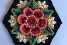 orgu Çiçek