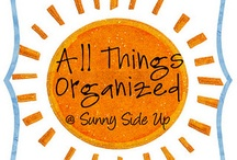 All About Organization / by Parga's Junkyard