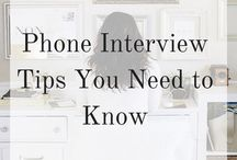 Phone Interview Tips / Phone Interview Suggestions