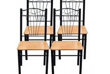Modern Dining chairs set of 4 very comfortable!
