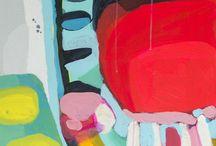 Akryl abstrakt