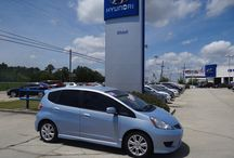 SOLD!! 2010 Honda Fit Stock # 5243A / Year:2010 Make:Honda Model:Fit Series:Sport 5-Speed AT Body:4 Dr Hatchback Engine:1.5L 4Cyl Transmission:Automatic Miles:60,675 Price:$11,988