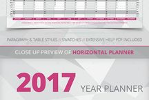 Calendar Template 2017 / Collection of Calendar Design Templates 2017.