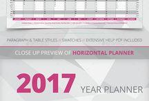 Calendar Template 2018 / Collection of Calendar Design Templates 2017.