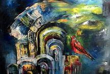 Bora Dervişoğlu tabloları