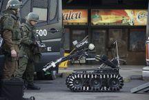El artefacto explosivo estalló en una galería comercial situada en el Metro Estación Escuela Militar, en el municipio santiaguino de Las Condes de Chile