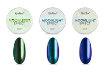 NeoNail Moonlight Effect / Pyłek Moonlight nada manicure wielowymiarowy, kolorowy połysk.