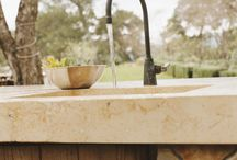 Outdoor Projects / Outdoor Concrete Furniture and Kitchen Features